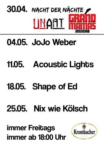 Live-Treff Konzerte Erndtebrück